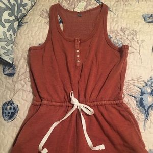 Aerie racer back Jersey romper/ New With Tags